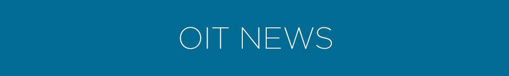 OIT News