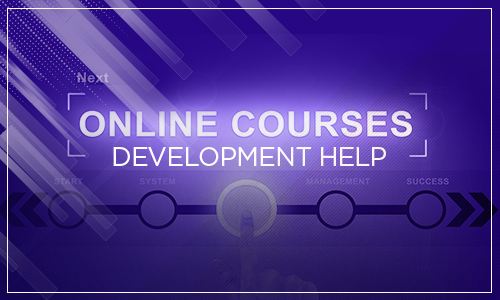 developing online course help