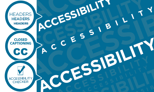 accessibility icons and the word Accessibility