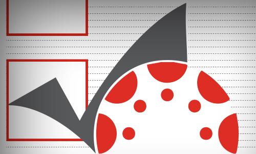 checkmark, Canvas logo