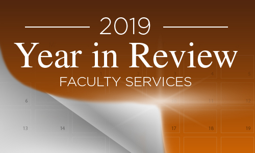 Faculty year in review
