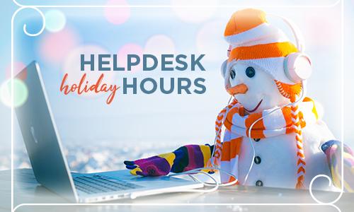 snowman on laptop