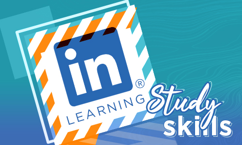 LinkedIn Logo with graphic elements