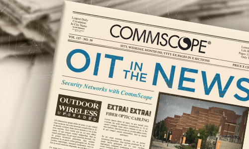 newspaper images with OIT information applied to it