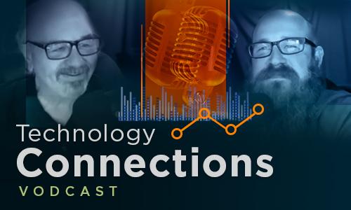 Technology Connections logo; Steve and Kortney headshots
