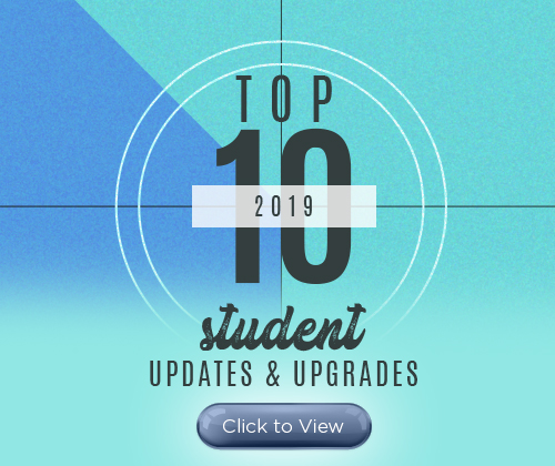 Top ten list of updates and upgrades OIT provided students with in 2019