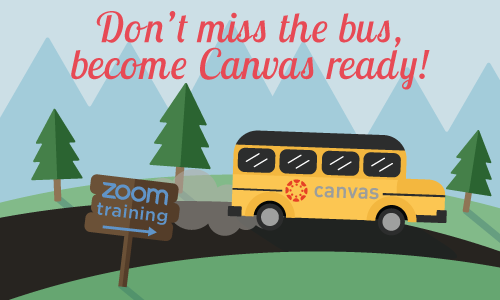 Don't miss the bus; become canvas ready!