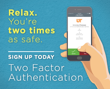 Relax. You're Two Times as Safe. Sign up for Two Factor