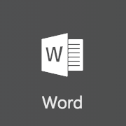 Office 365 Word icon