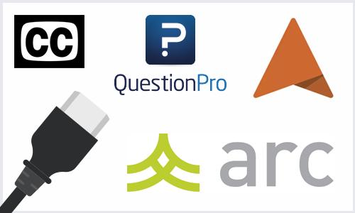 Question Pro, Arc, Akindi, Accessibility, HDMI Adaptors