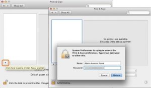 Installing the OIT BW wireless print queue for Mac OSX 10 x