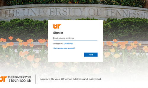 New University of Tennessee Email Login